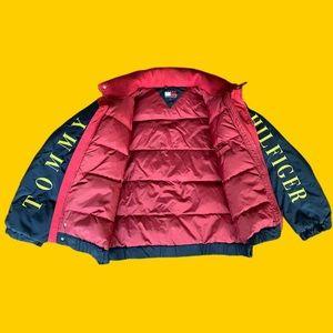 Vintage Tommy Hilfiger Hooded Puffer Jacket